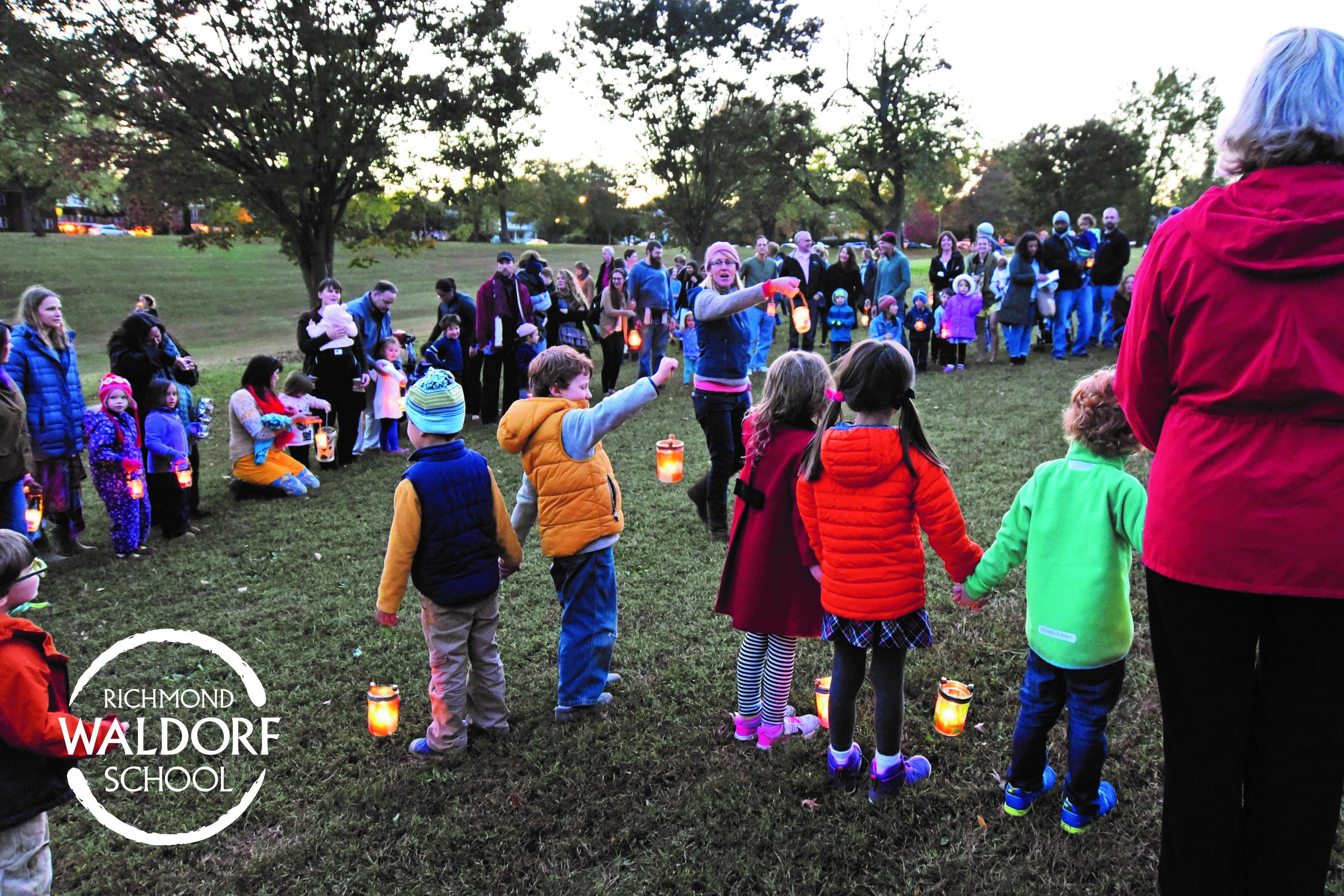 singing lantern walk songs at Richmond Waldorf School