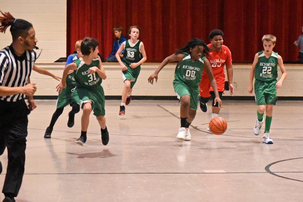Richmond Waldorf School basketball