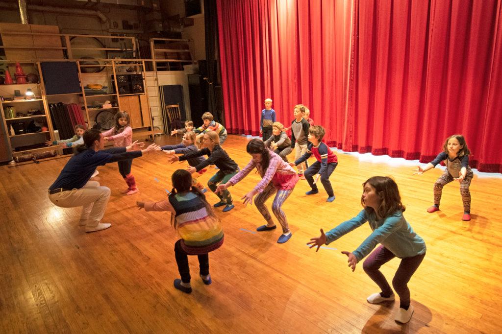 Richmond Waldorf School movement class