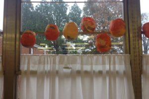 tissue paper balloon lanterns