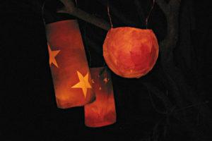 handmade paper lanterns for lantern walk